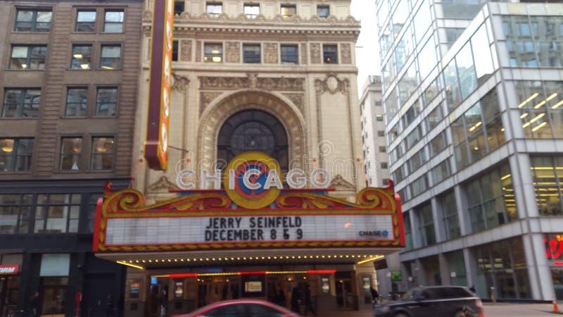 Teatro de Chicago fotos de archivo