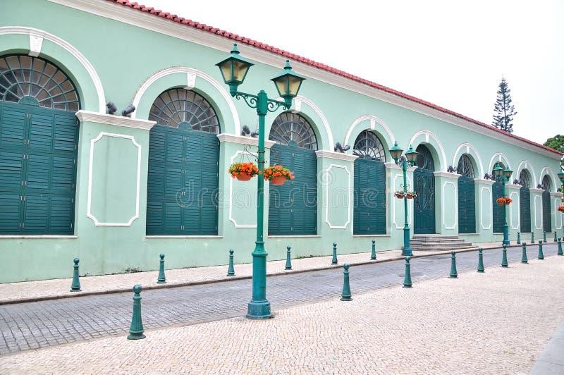 Teatro de Dom Pedro V fotografía de archivo libre de regalías