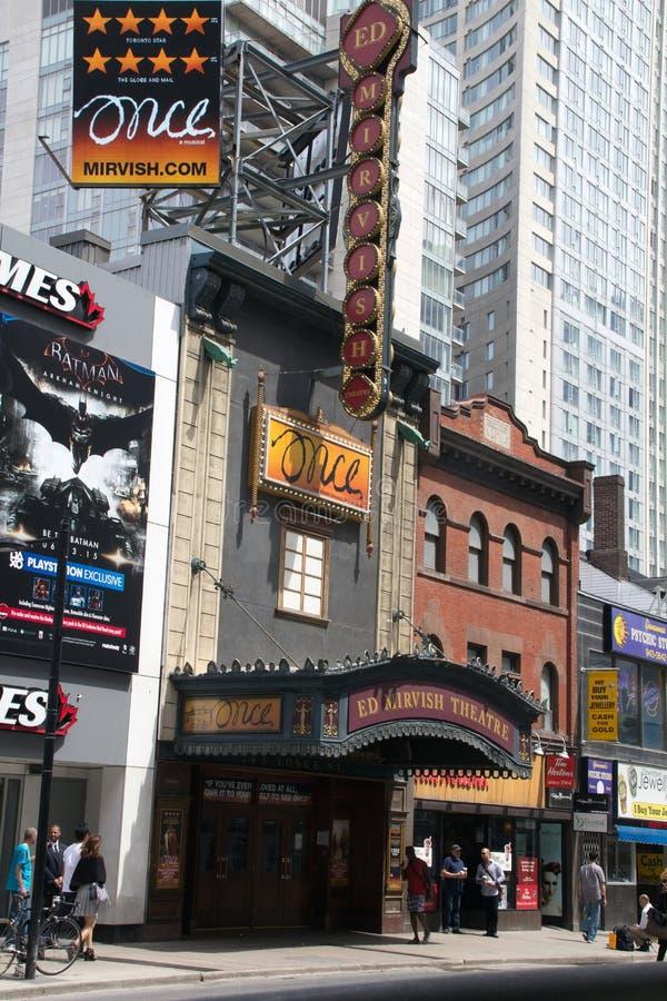 Teatro de Ed Mirvish fotos de stock