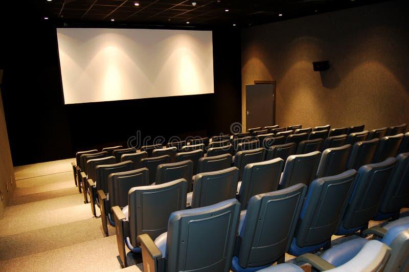 Teatro de filme fotografia de stock royalty free
