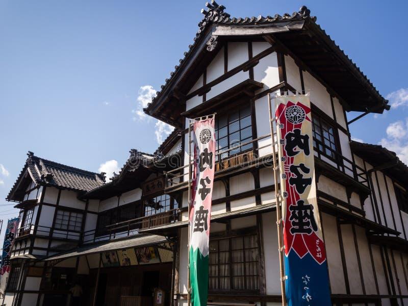 Teatro de Kabuki en Uchiko, Japón fotografía de archivo libre de regalías
