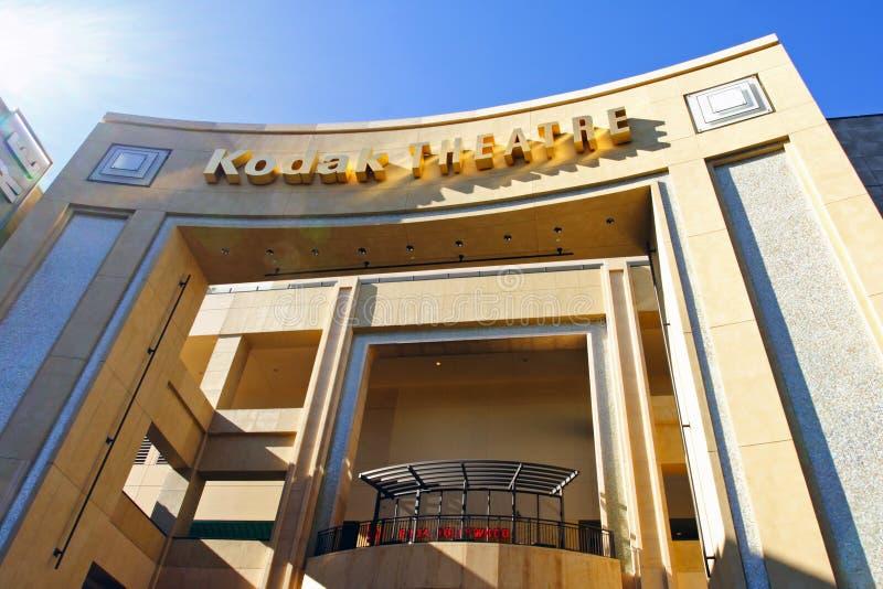 Teatro de Kodak fotos de archivo libres de regalías