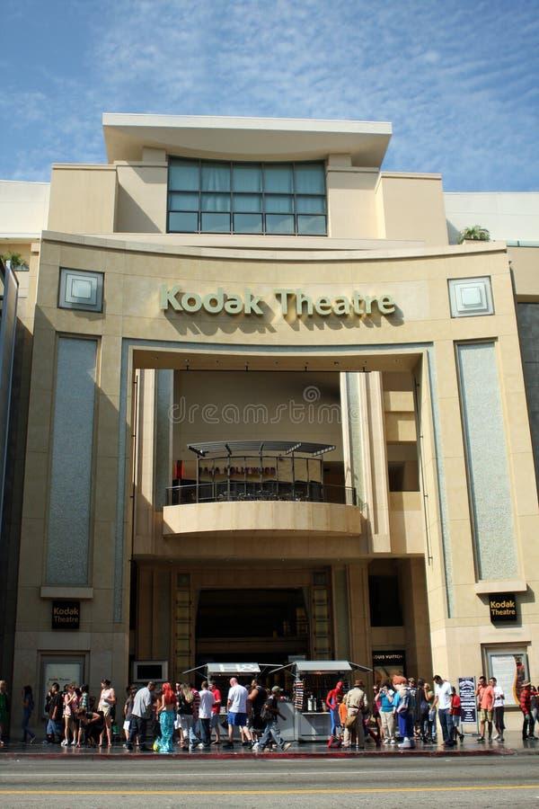 Teatro de Kodak em Hollywood imagem de stock