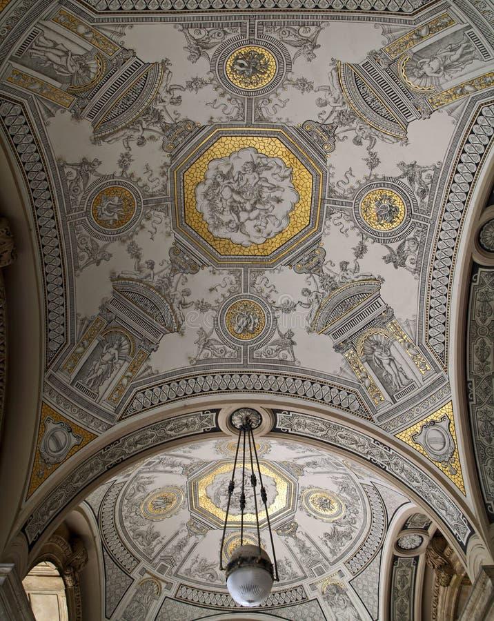 Teatro de la ópera de Budapest fotografía de archivo libre de regalías