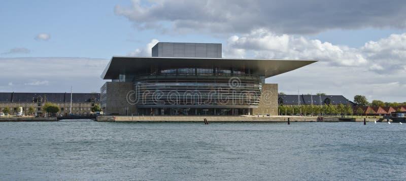 Teatro de la ópera de Copenhague fotografía de archivo libre de regalías