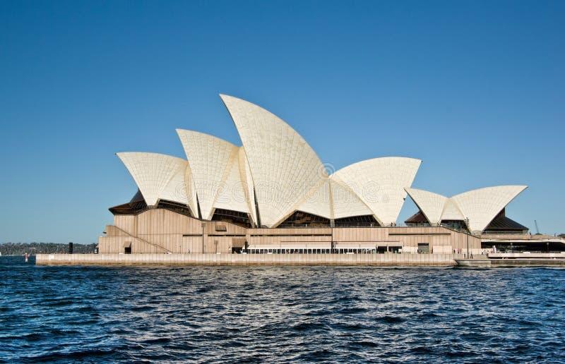 Teatro de la ópera de Sydney imagenes de archivo