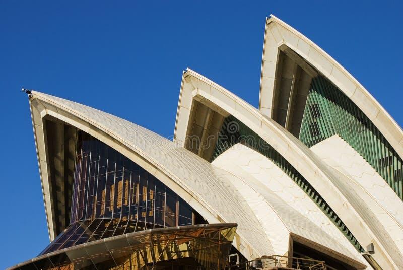 Teatro de la ópera de Sydney en Australia imagen de archivo