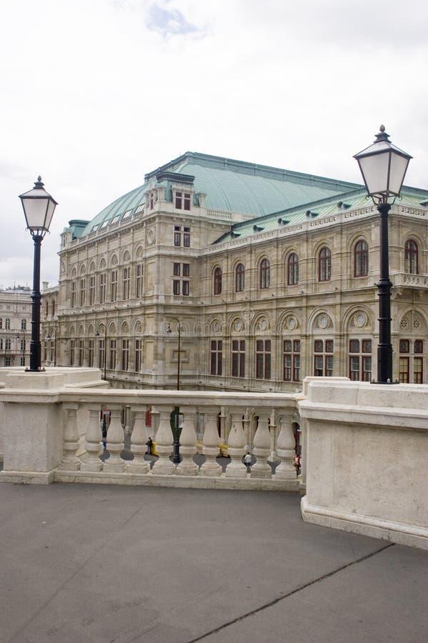 Teatro de la ópera del estado de Viena fotografía de archivo libre de regalías