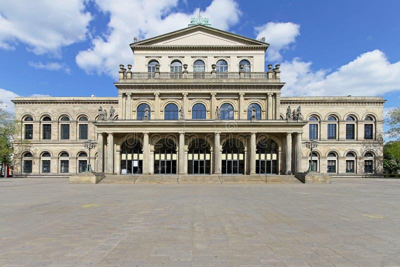 Teatro de la ópera Hannover fotos de archivo libres de regalías