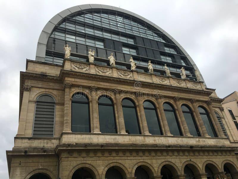 Teatro de la ópera de Lyon Francia foto de archivo libre de regalías