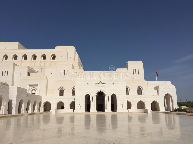 Teatro de la ópera omaní imágenes de archivo libres de regalías