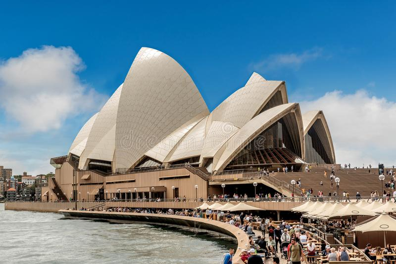 Teatro de la ópera de Sydney, Australia fotos de archivo