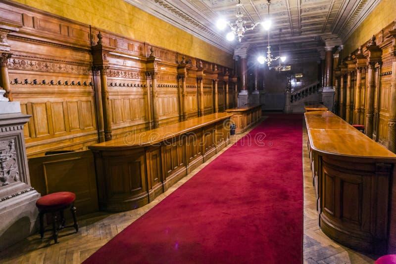 Teatro de la ópera viejo de la ópera del estado foto de archivo