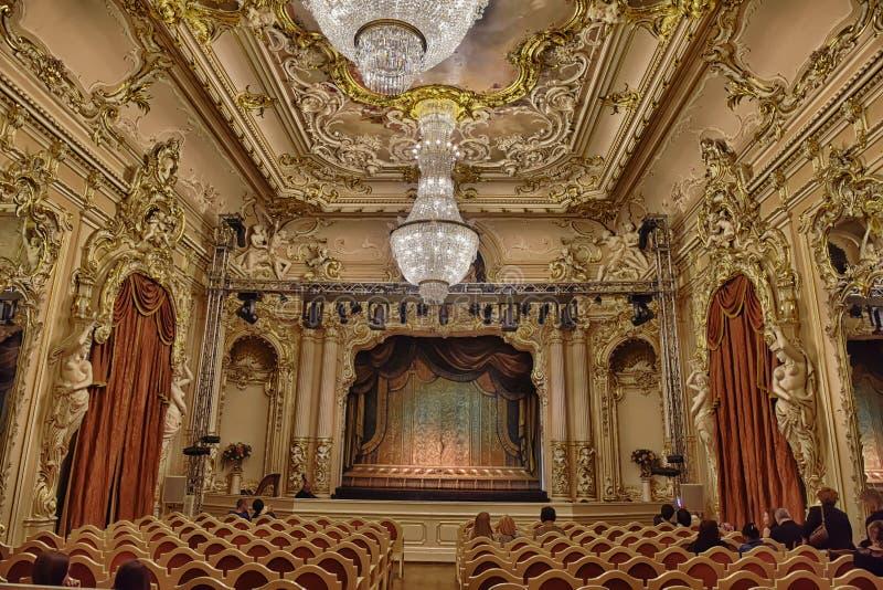 Teatro de la música de cámara imágenes de archivo libres de regalías
