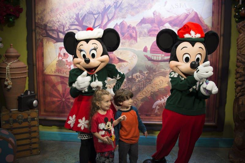 Teatro de la plaza - reino mágico Walt Disney World fotos de archivo libres de regalías