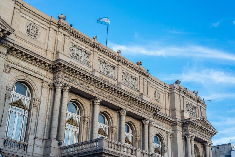 Teatro de los dos puntos en Buenos Aires, la Argentina fotos de archivo libres de regalías