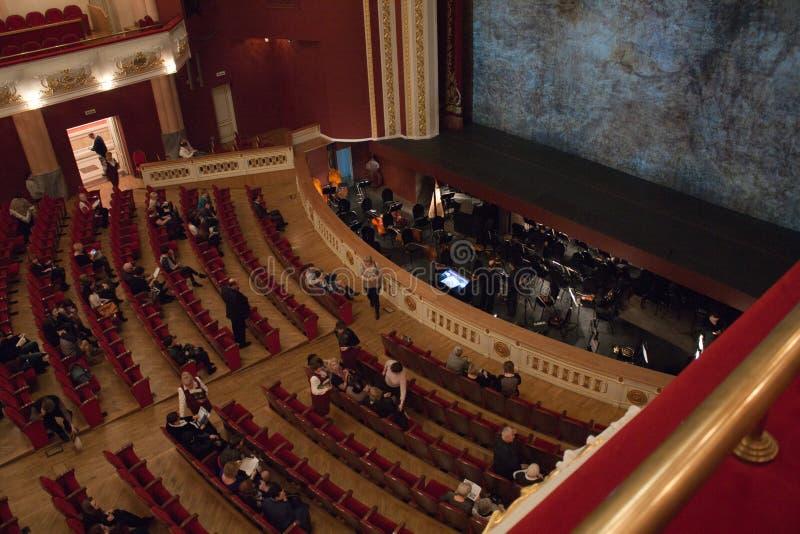 Teatro de Opera foto de stock