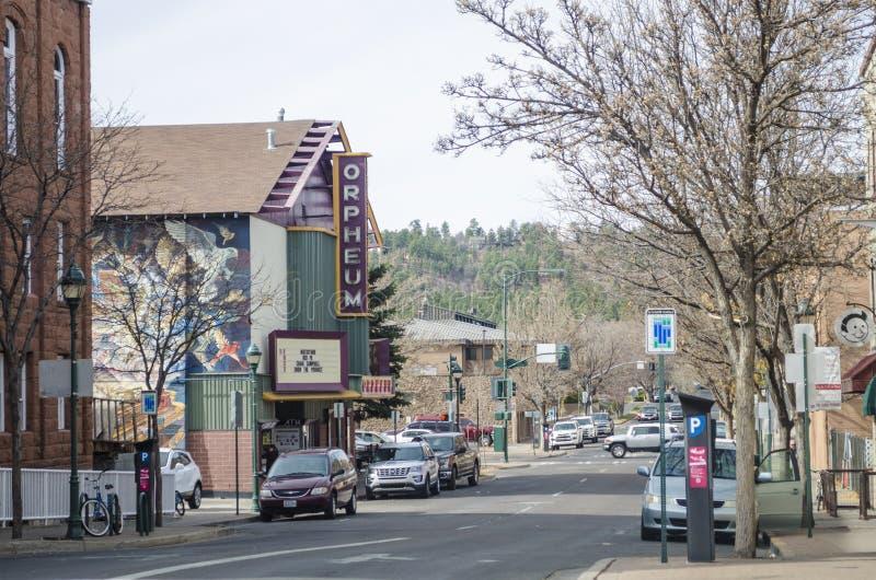 Teatro de Orpheum Flagstaff, o Arizona foto de stock