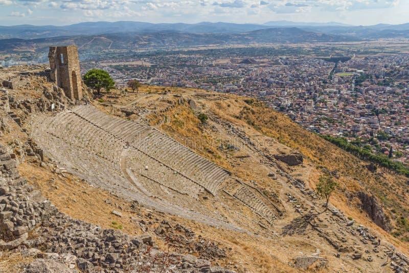 Teatro de Pergamon fotografia de stock royalty free