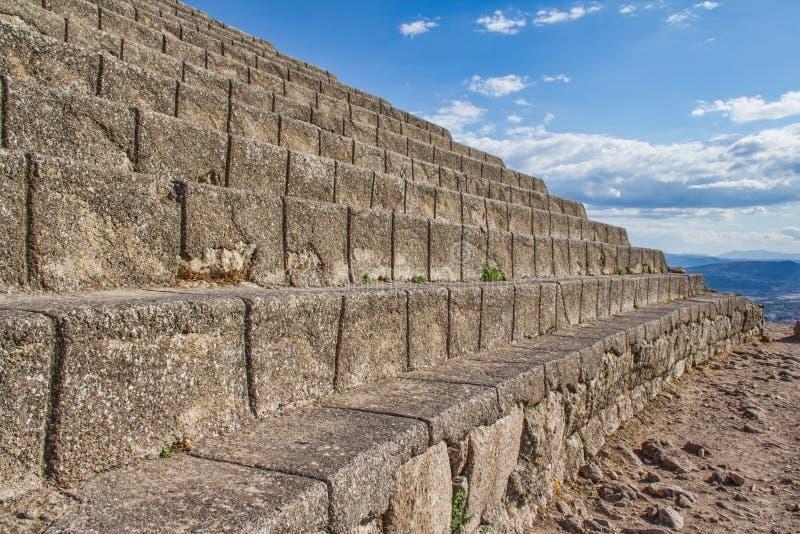 Teatro de Pergamon imagem de stock
