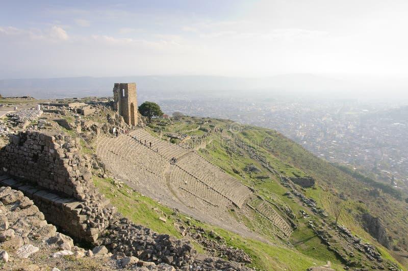 Teatro de Pergamon fotos de stock