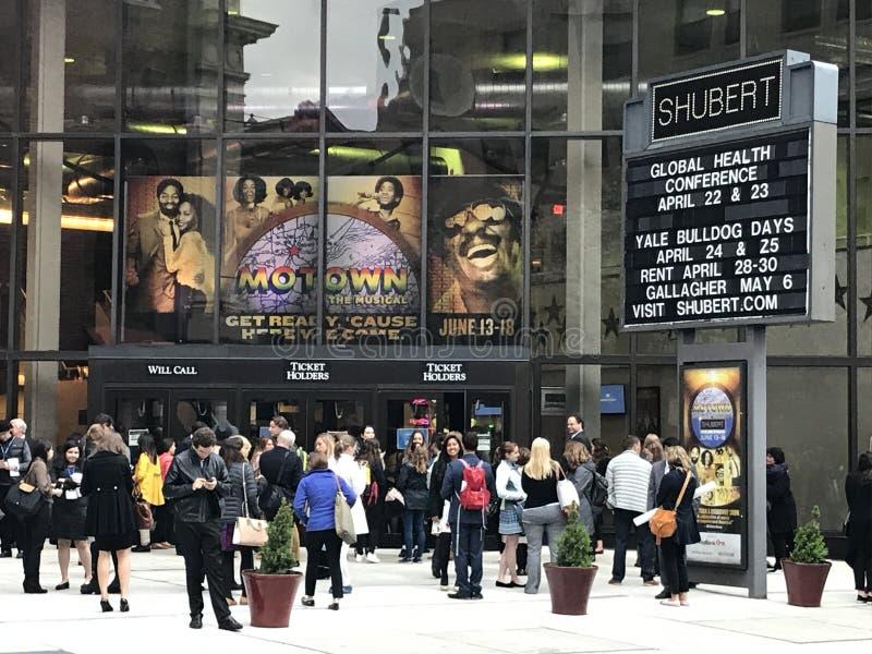 Teatro de Shubert en New Haven, Connecticut imagen de archivo