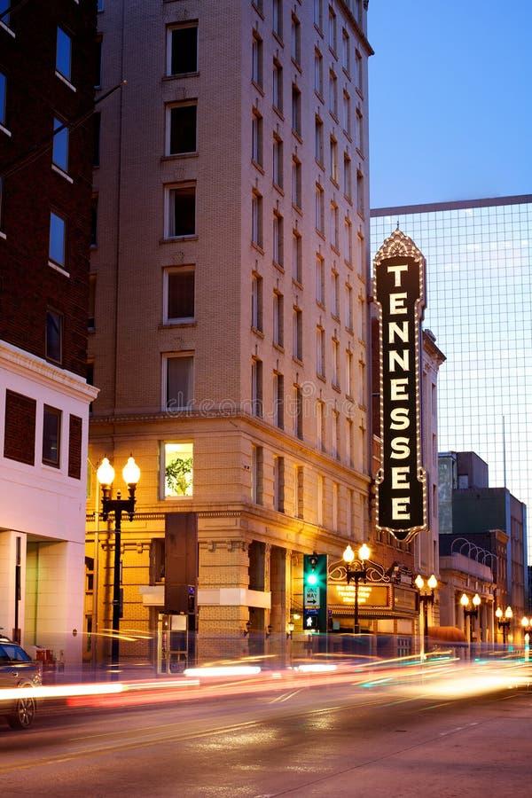 Teatro de Tennessee, Knoxville imagens de stock