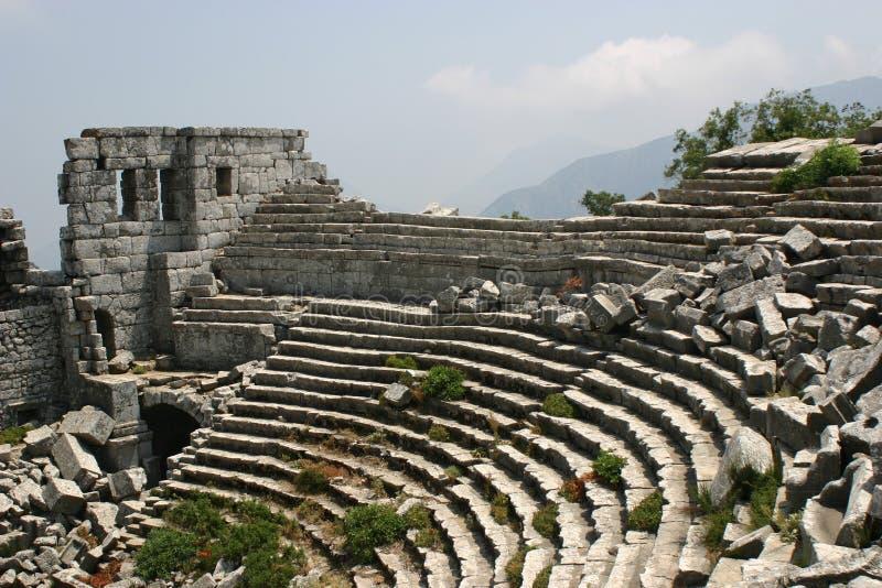 Teatro de thermessos foto de archivo libre de regalías