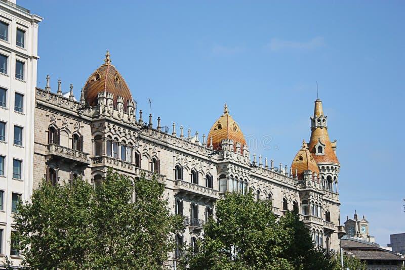 Teatro de Tivoli en Barcelona fotografía de archivo