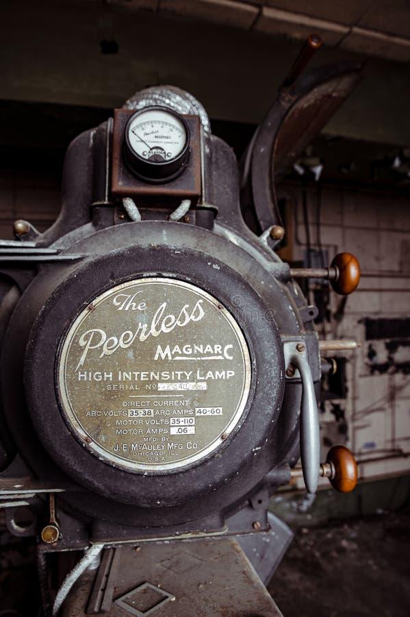 Teatro de variedad - Cleveland, Ohio fotos de archivo
