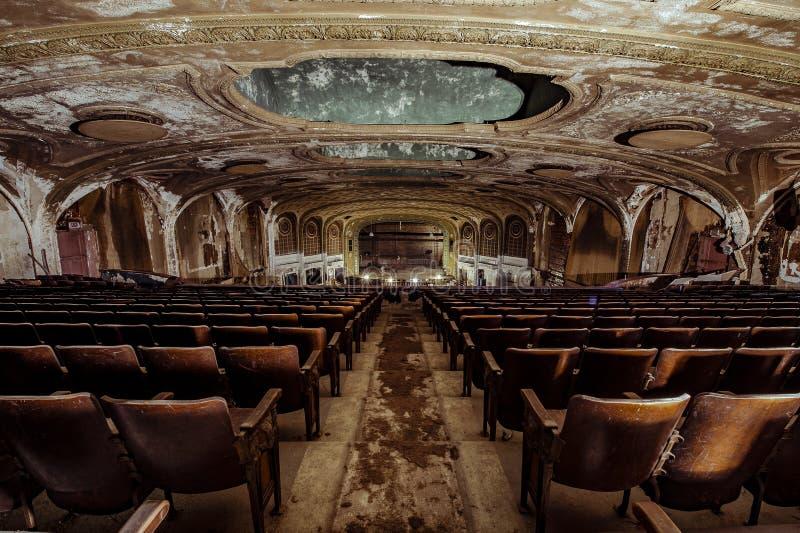 Teatro de variedade - Cleveland, Ohio imagem de stock royalty free