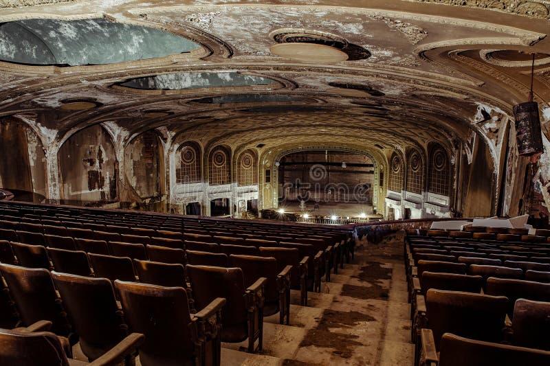 Teatro de variedade - Cleveland, Ohio fotografia de stock