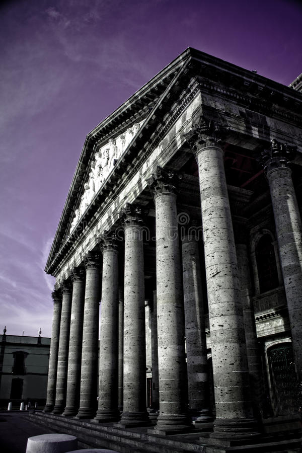 Teatro degollado royalty free stock photos