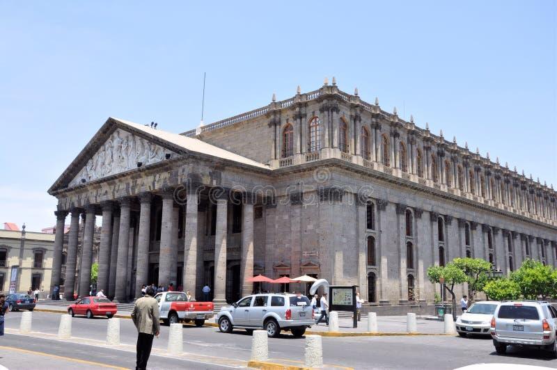 Teatro Degollado Guadalajara Mexico royalty free stock photos