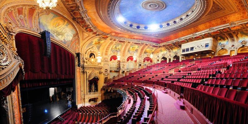 Teatro del Chicago fotografia stock