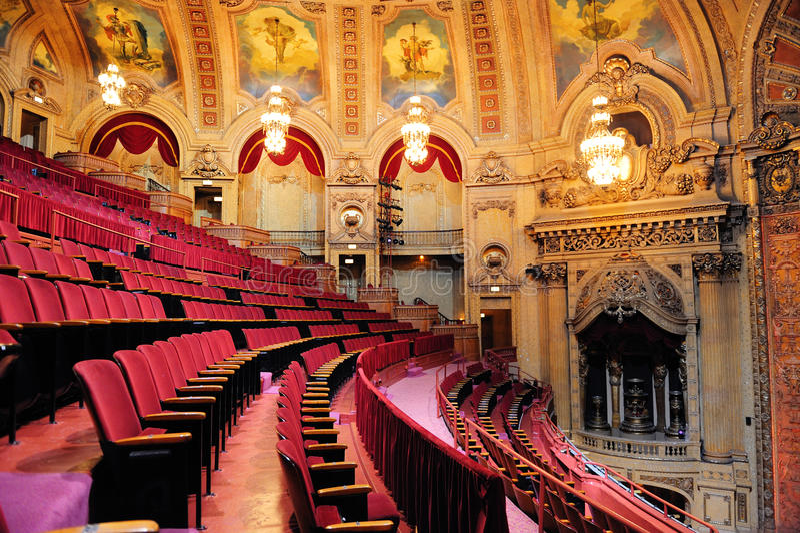Teatro del Chicago immagini stock