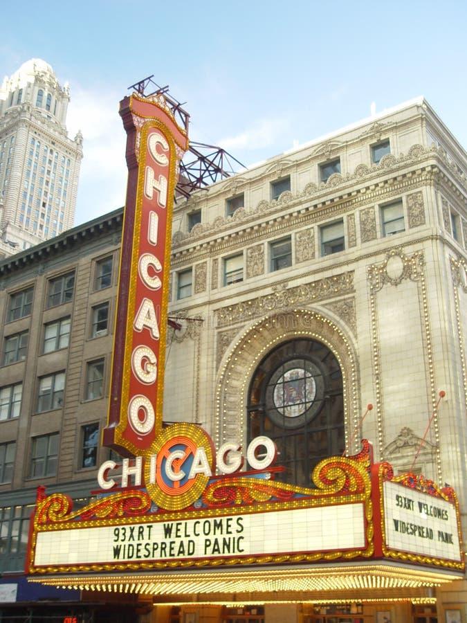 Teatro del Chicago fotografie stock