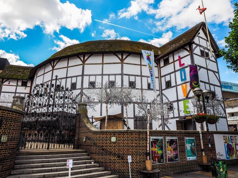 Teatro del globo en Londres, hdr imagen de archivo libre de regalías
