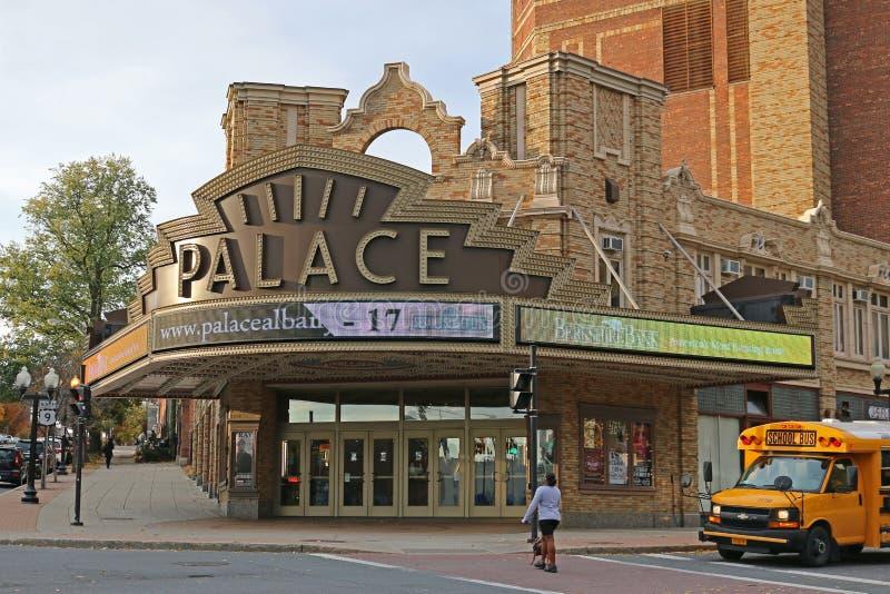 Teatro del palacio en Albany, Ny imagen de archivo