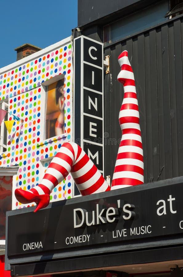 Teatro del ` s del duque en Brighton, Inglaterra foto de archivo