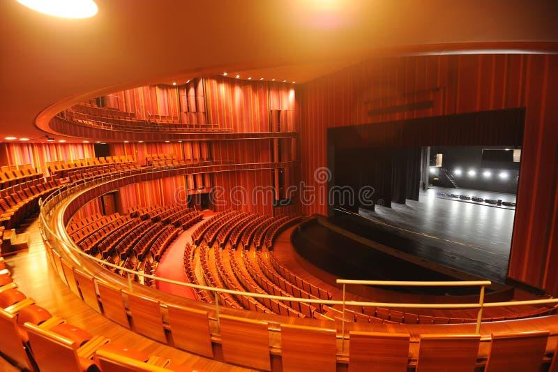 Teatro del teatro magnífico nacional de China imágenes de archivo libres de regalías