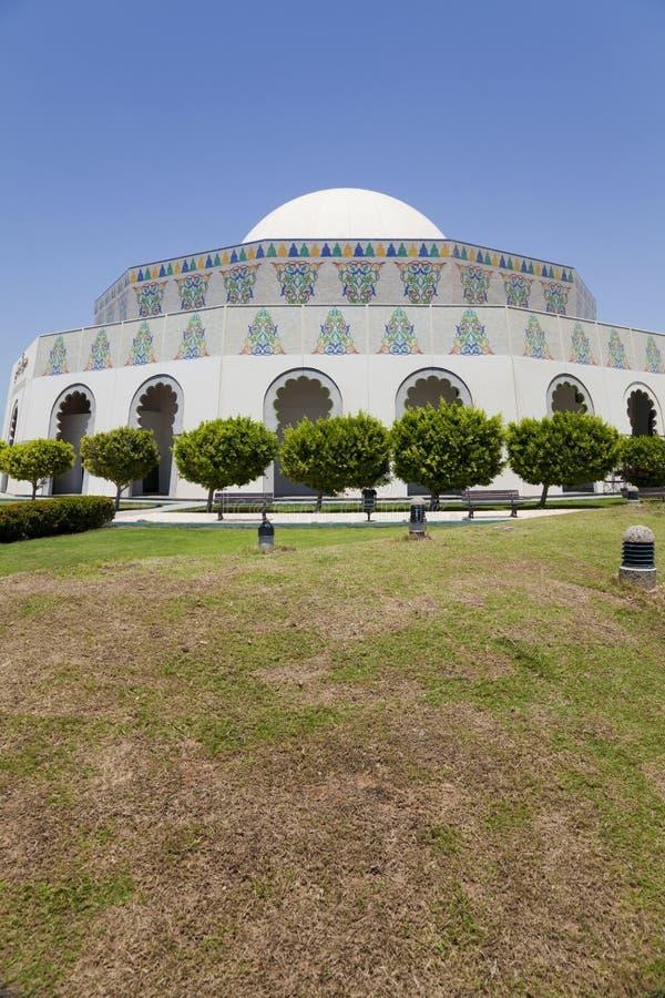 Teatro dell'Abu Dhabi, Abu Dhabi, UAE fotografie stock libere da diritti