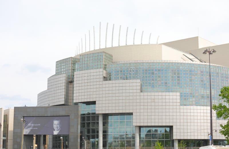 Teatro dell'opera Bastille Parigi fotografia stock libera da diritti