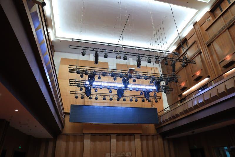 Teatro dell'opera classico immagine stock