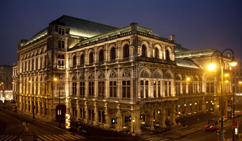 Opera di Vienna fotografia stock