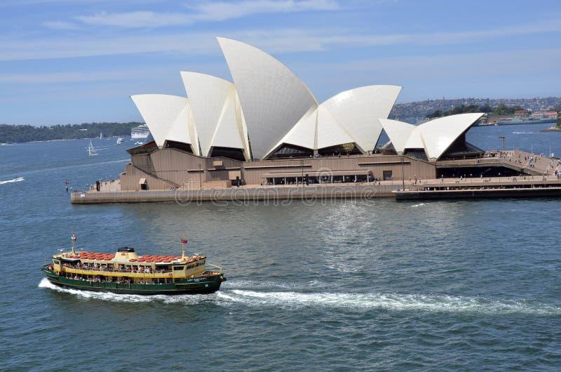 Teatro dell'Opera di Sydney. immagine stock