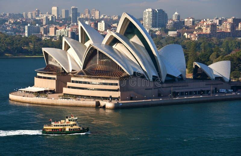 Teatro dell'Opera di Sydney - Australia fotografie stock