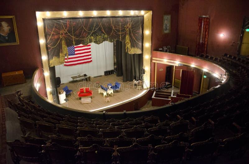Teatro dell'opera di Tabor in Leadville, Colorado fotografia stock libera da diritti