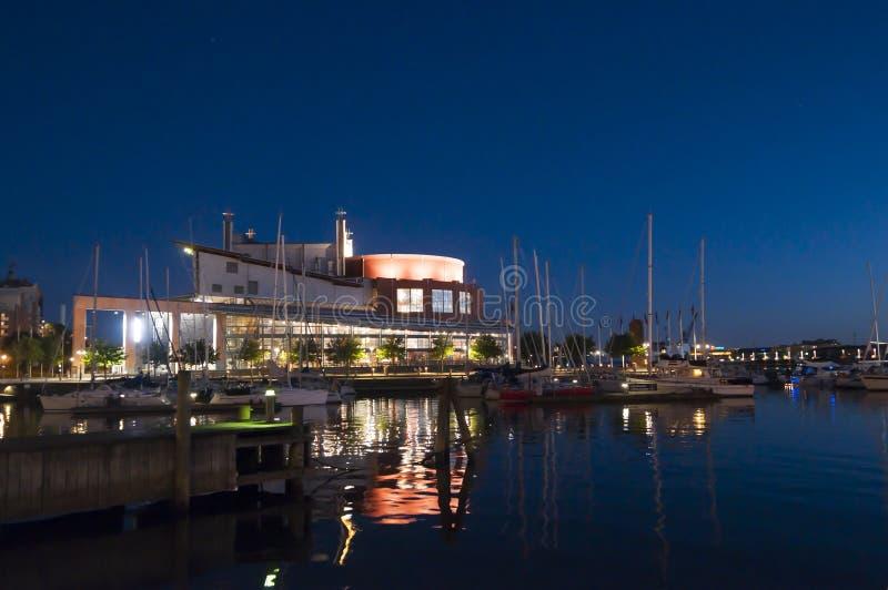 Teatro dell'opera Svezia di Gothenburg immagine stock libera da diritti