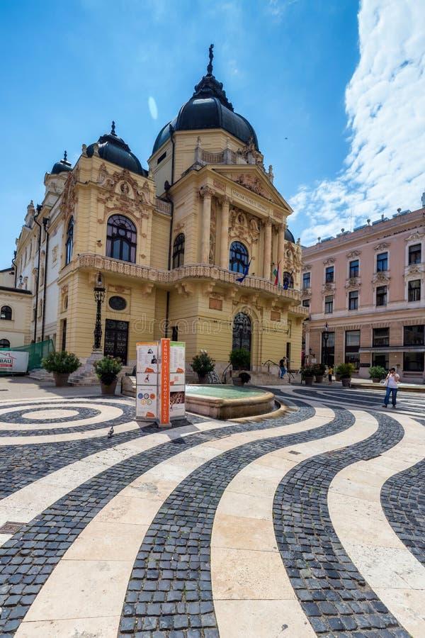 Teatro della città Pecs, Ungheria, fotografie stock